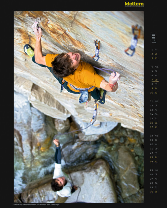 Klettern Kalender 2012
