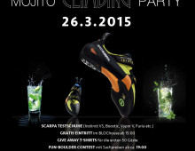 Scarpa Mojito Climbing Party at BLOChouse Graz Poster